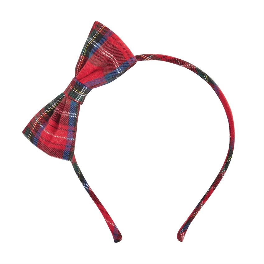 MudPie - Very Merry Tartan Headband