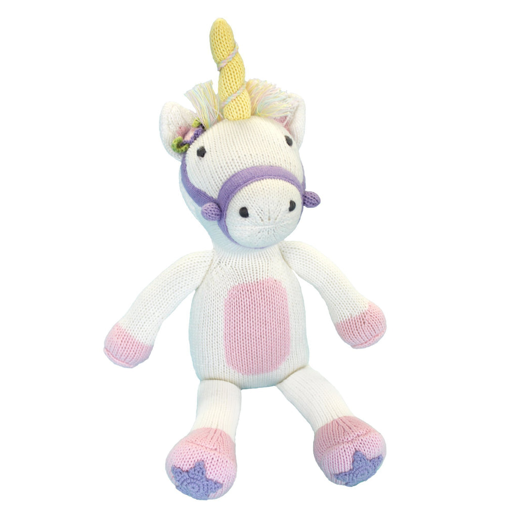 Knitted Unicorn Doll