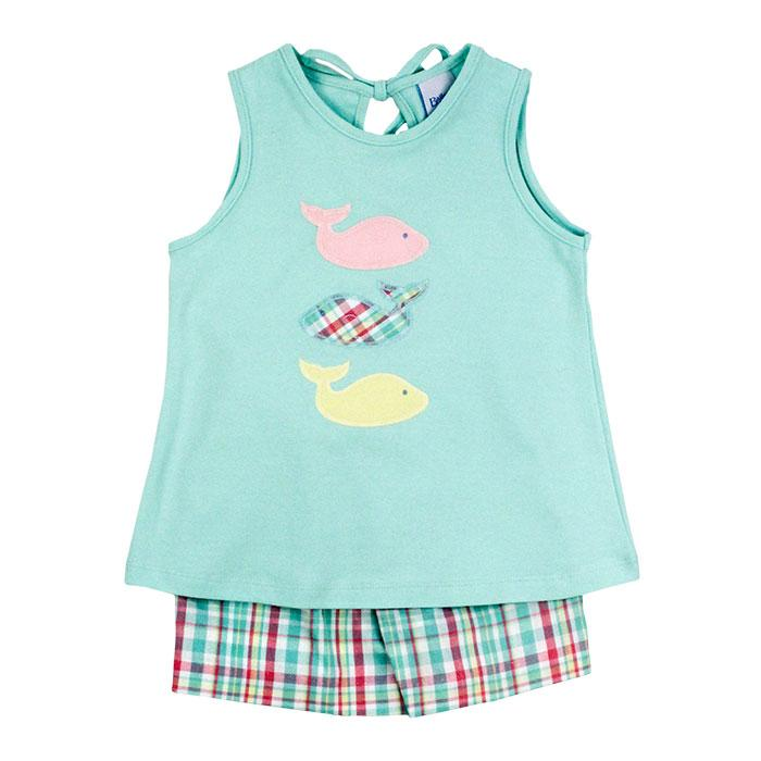 Bailey Boys - Three Whales Girls' Short Set
