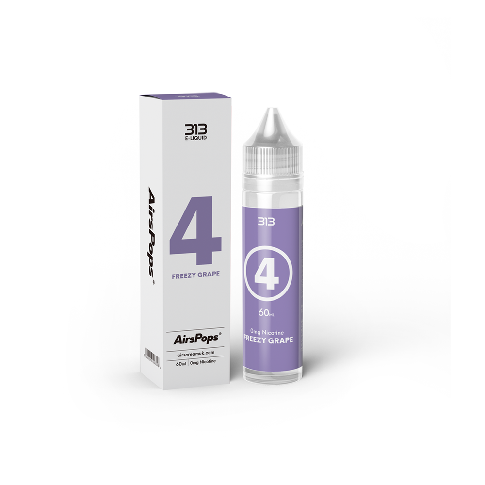 Airscream 313 E-LIQUID Freezy Grape 60ml - Airscream NZ | Online Vape Store NZ | Vape Pod System NZ