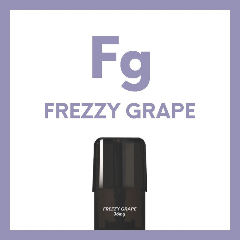 Airscream 2AirsPops Pods 1.6ML Freezy Grape - Airscream NZ | Online Vape Store NZ | Vape Pod System NZ