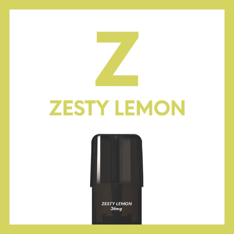 Airscream 2AirsPops Pods 1.6ML Zesty Lemon - Airscream NZ | Online Vape Store NZ | Vape Pod System NZ