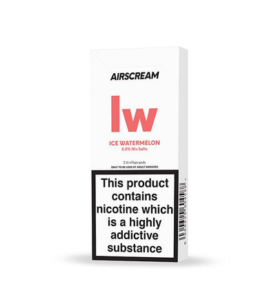 Airscream 2AirsPops Pods 1.6ML Ice Watermelon - Airscream NZ | Online Vape Store NZ | Vape Pod System NZ