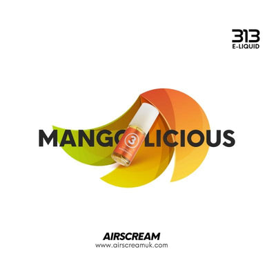 AIRSCREAM 313 E-LIQUID Mangolicious 10ml - AIRSCREAM NZ