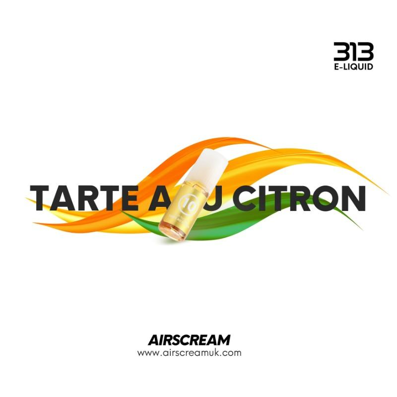 Airscream 313 E-LIQUID Tarte Au Citron 10ml - Airscream NZ | Online Vape Store NZ | Vape Pod System NZ