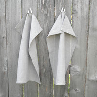 "Natural linen kitchen towel 18"" X 27"" long"