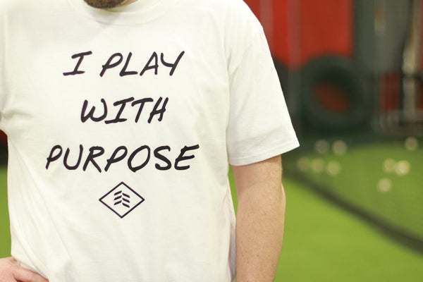 "Apparel: ""Play with Purpose"" Shirt"