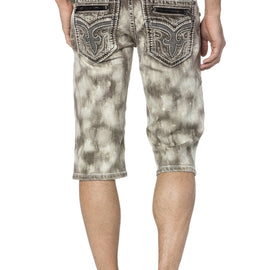 ROCK REVIVAL GILMORE HK7 BIKER SHORTS
