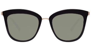 LE SPECS SUNGLASSES, CALIENTE, BLACK / GOLD