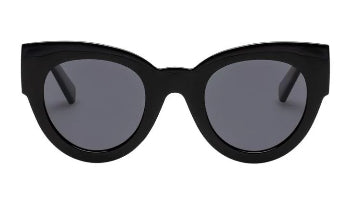 LE SPECS SUNGLASSES, MATRIACH, BLACK