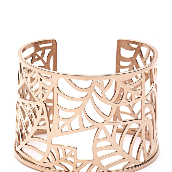 PASTICHE ISLAND SPIRIT CUFF IN STAINLESS STEEL, ROSE GOLD