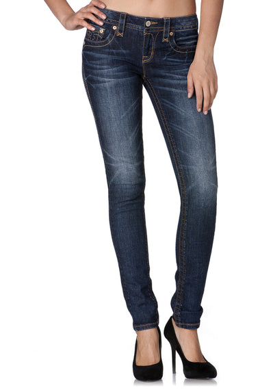 ROCK REVIVAL ANABELA S200 SKINNY JEANS