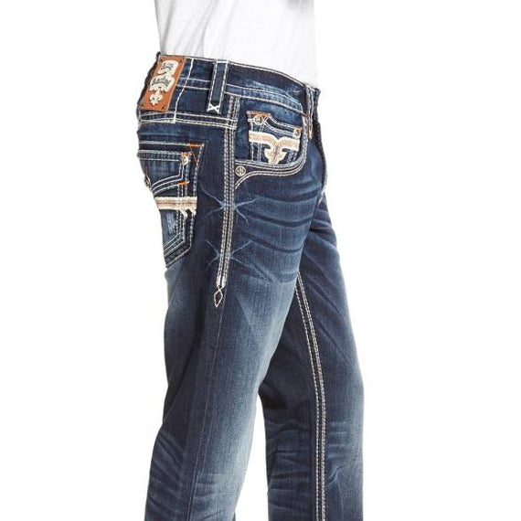 ROCK REVIVAL JOSEF J200 STRAIGHT JEANS