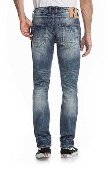 ROCK REVIVAL REMIX INDIGO A108 ALT STRAIGHT JEAN