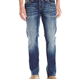 ROCK REVIVAL MENS JEANS STEVEN STRAIGHT J73