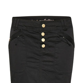 CULTURE SKIRT STUDDED, BLACK