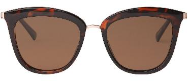 LE SPECS SUNGLASSES, CALIENTE, POLARISED, TORT / ROSE GOLD