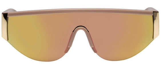 LE SPECS SUNGLASSES, VIPER, BLUSH / GOLD