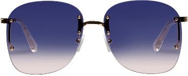 LE SPECS SUNGLASSES, SKYLINE, BRIGHT GOLD, BLUE