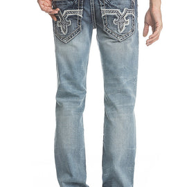 ROCK REVIVAL RAUF J200 STRAIGHT JEAN