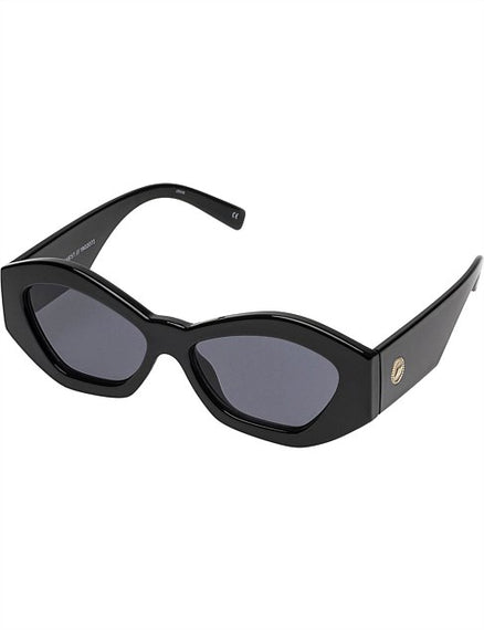 LE SPECS SUNGLASSES, THE GINCHIEST, BLACK