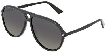 GUCCI SUNGLASSES, BLACK