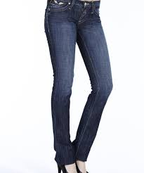 ROBINS JEANS DARK BLUE WITH GOLD WINGS, 27