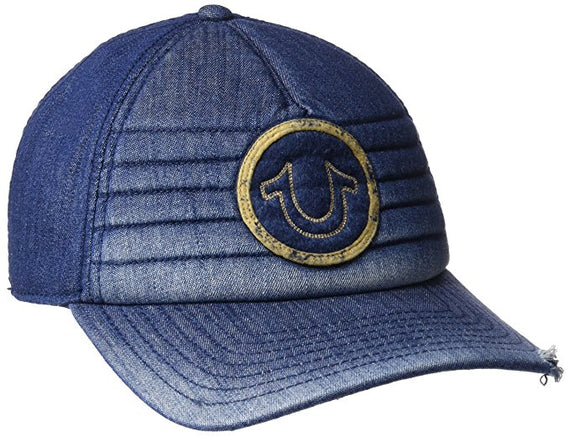 TRUE RELIGION BASEBALL DENIM CAP