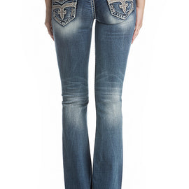 ROCK REVIVAL B200 JAELIN BOOT JEAN