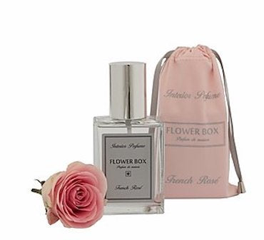 FLOWER BOX LIMITED RELEASE INTERIOR FRAGRANCE PERFUME SPRAY GIFT BAG, 100ML