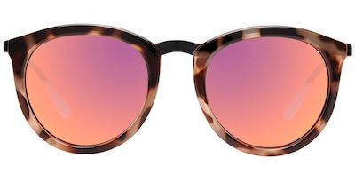 LE SPECS SUNGLASSES, NO SMIRKING, VOLCANIC BLACK TORT