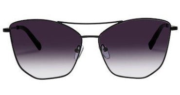 LE SPECS SUNGLASSES, PRIMEVAL ALT FIT METAL FRAME, BLACK