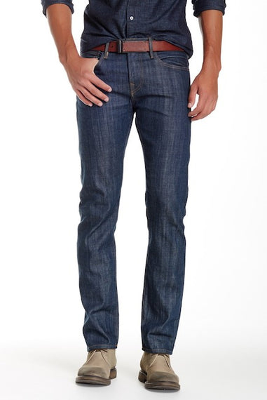TRUE RELIGION KURT DENIM JEANS, 32 SLTE BLU SLVDG