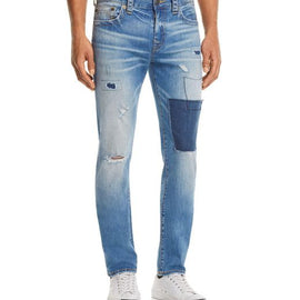 TRUE RELIGION ROCCO SLIM FIT JEANS IN TRAIN HOPPER