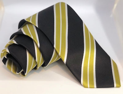 SIMON HART MENS FASHION TIE, TURKISH, SILK, STRIPED