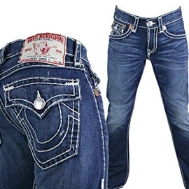 TRUE RELIGION RICKY SUPER T MENS JEAN W/FLAP LPD-PIONEER