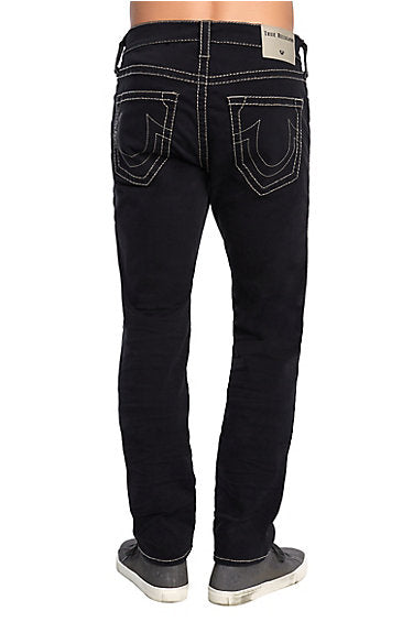 TRUE RELIGION ROCCO NO FLAP BIG T MENS JEAN - BLACK
