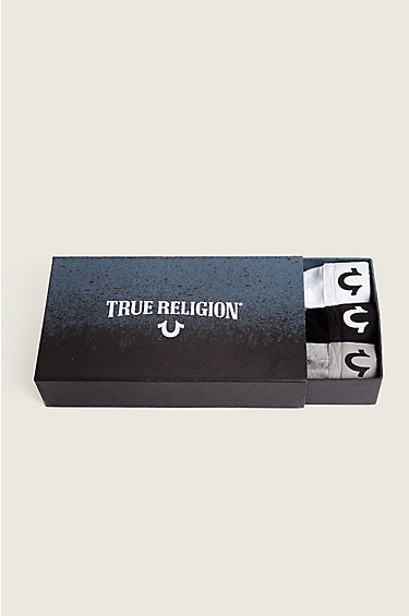 TRUE RELIGION BOXER BRIEFS BOX PACK OF 3