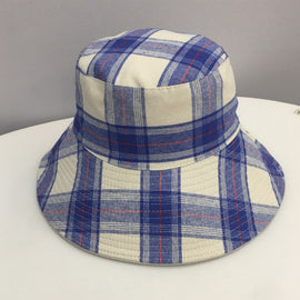 SARAH J CURTIS BUCKET HATS, BLUE, VARIOUS
