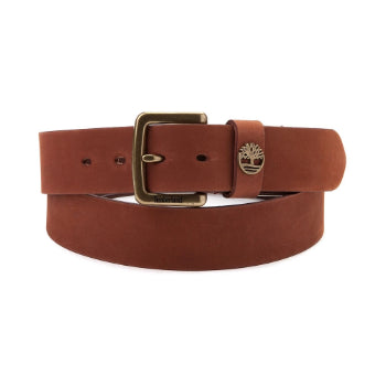 TIMBERLAND CUT LEATHER BELT BOX SET WITH 42