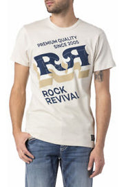 ROCK REVIVAL PARCH CREAM T SHIRT