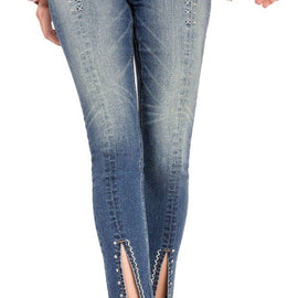 MISS ME HIGH-RISE ANKLE SKINNY JEAN XX