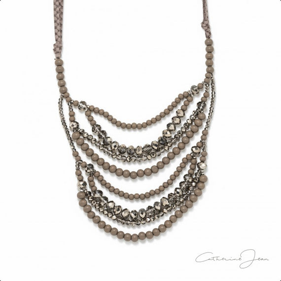 CATHERINE JEAN EARTH BEADS NECKLACE