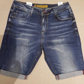 CIPO & BAXX MENS DENIM SHORT ROLLED CUFF