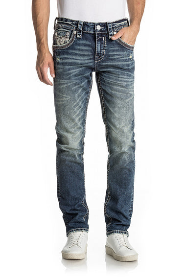 ROCK REVIVAL BERWYN A204 ALT STRAIGHT JEAN