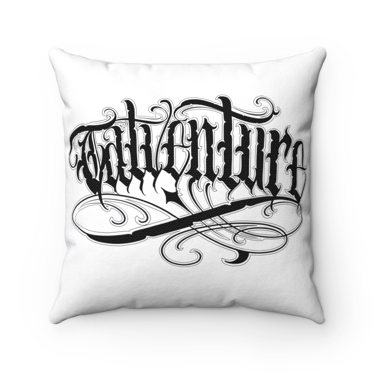Tatventure Throw Pillow