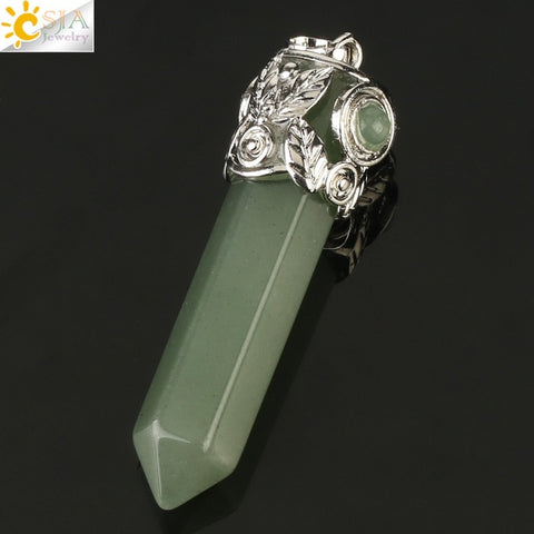 Natural Crystal Pendants