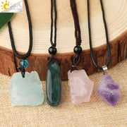Irregular Crystal Pendants