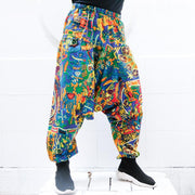 Splatter Harem Pants