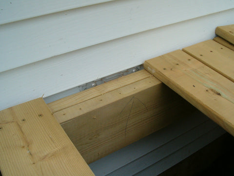 Siding Saver Ledger Board